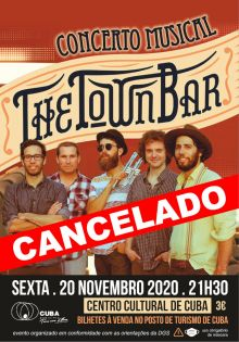 THE TOWN BAR CONCERTO CANCELADO